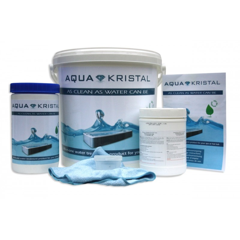 Aqua Kristal all-in-one für Swimspa