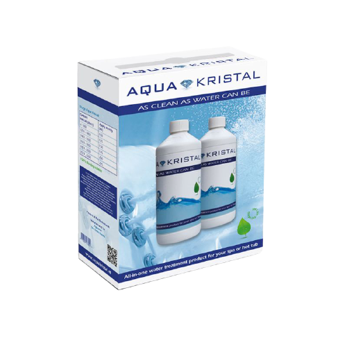 AquaKristal Whirlpool Flasche 2x1L Nachfüllset